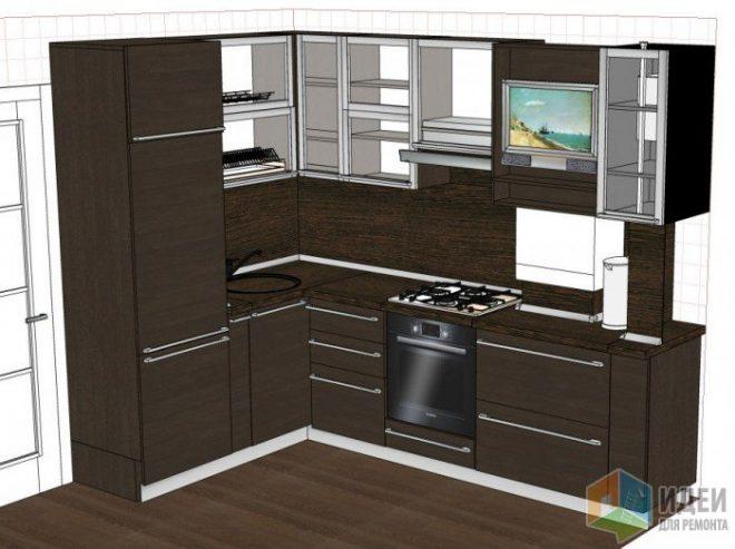 Планировка кухни: правила, советы, идеи