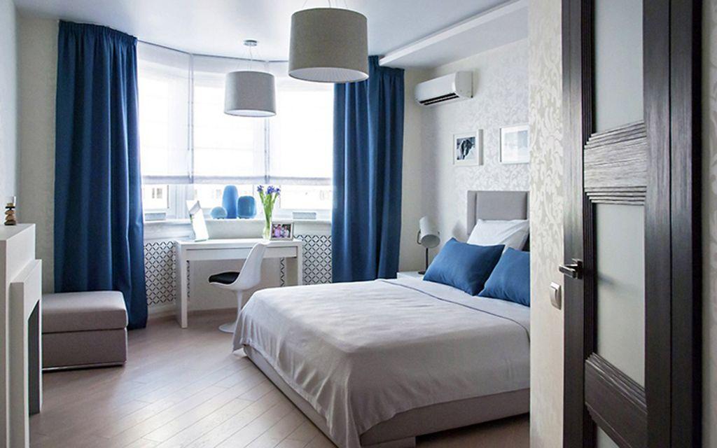 подбор обоев для спальни