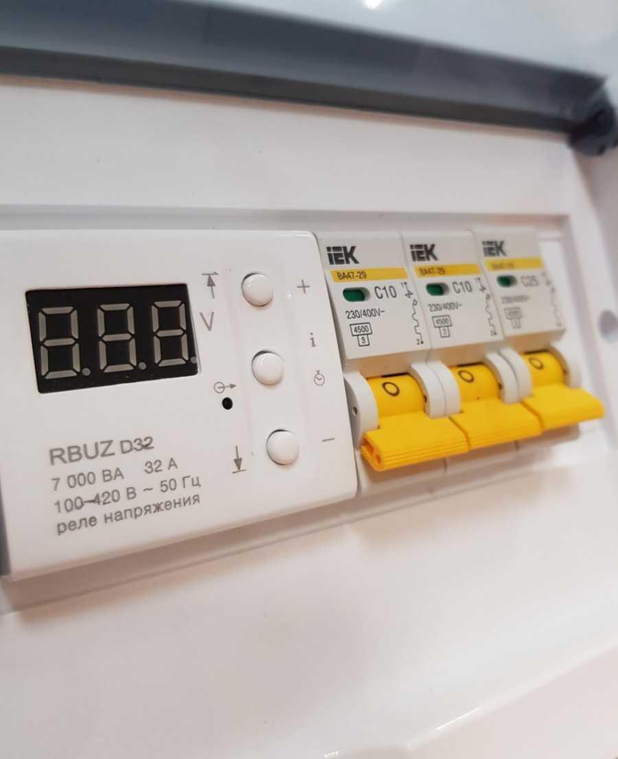 Реле напряжения 220в для дома: принцип работы, модели, цены