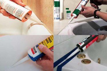 Герметик для ванной: какой лучше, как выбрать, пользоваться