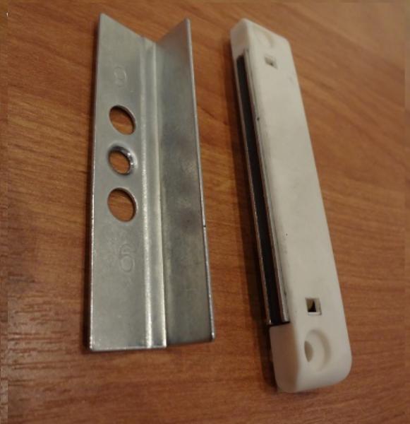 Как выбрать и установить магнитную защелку на балконную дверь