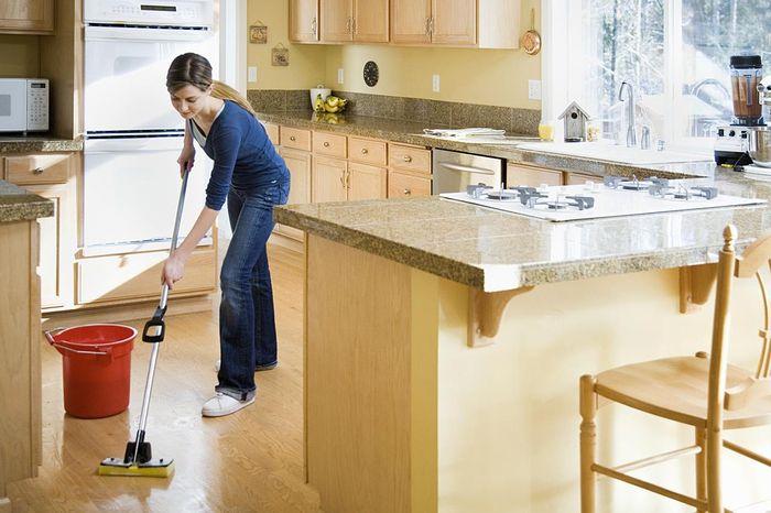 Порядок на кухне: уборка по-новому. 6 дел по 8 минут. на кухне