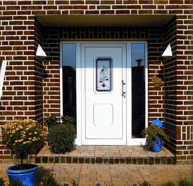 металлопластиковые двери входные для частного дома