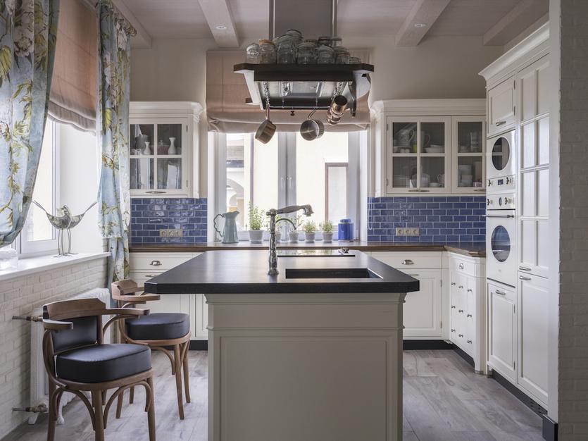 Что такое стиль прованс и как воссоздать его в маленькой кухне