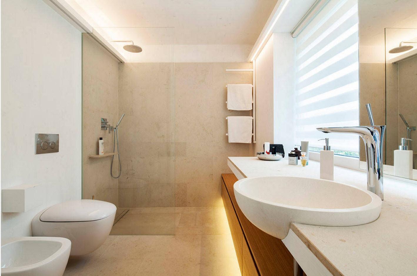 Интерьер ванной комнаты, совмещенной с туалетом (170 фото): планировка и дизайн, идеи для маленькой душевой, санузел площадью 6 кв. м, примеры эргономики