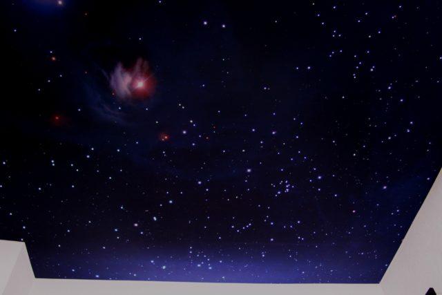 Потолок звездное небо - 6 вариантов воплощения мечты.