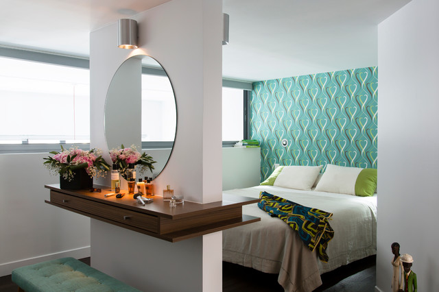 будуарный столик с зеркалом