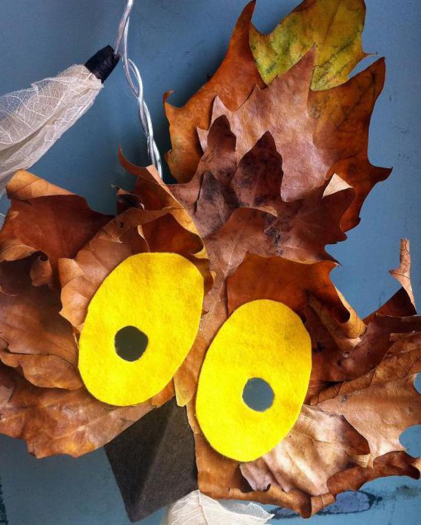 Поделки из листьев - 89 фото идей красивых поделок из осенних листьев