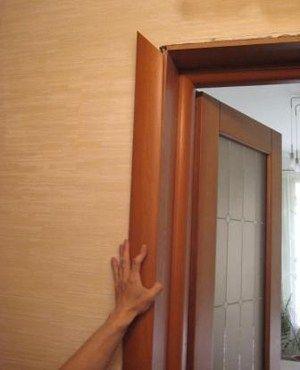 как правильно установить межкомнатную дверь с коробкой