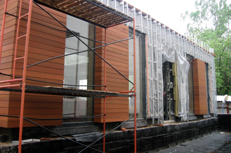 Навесные вентилируемые фасады: что это такое, виды, монтаж.