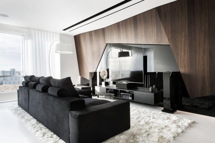 Натуральные материалы и природные мотивы в декоре – стиль модерн в интерьере