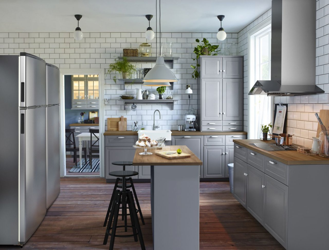 Кухонные фасады икеа метод — кухня от икеа