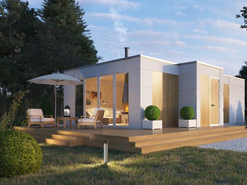 быстровозводимые модульные дома