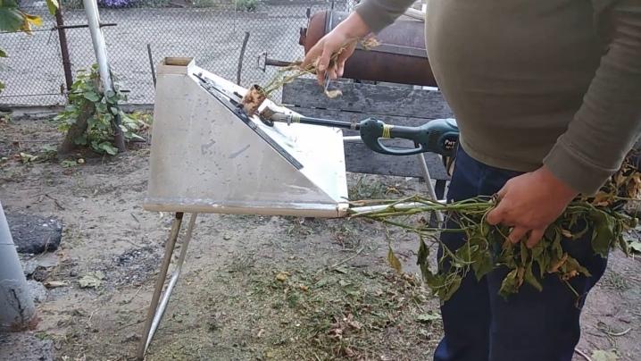 Принцип работы и изготовление своими руками измельчителя травы
