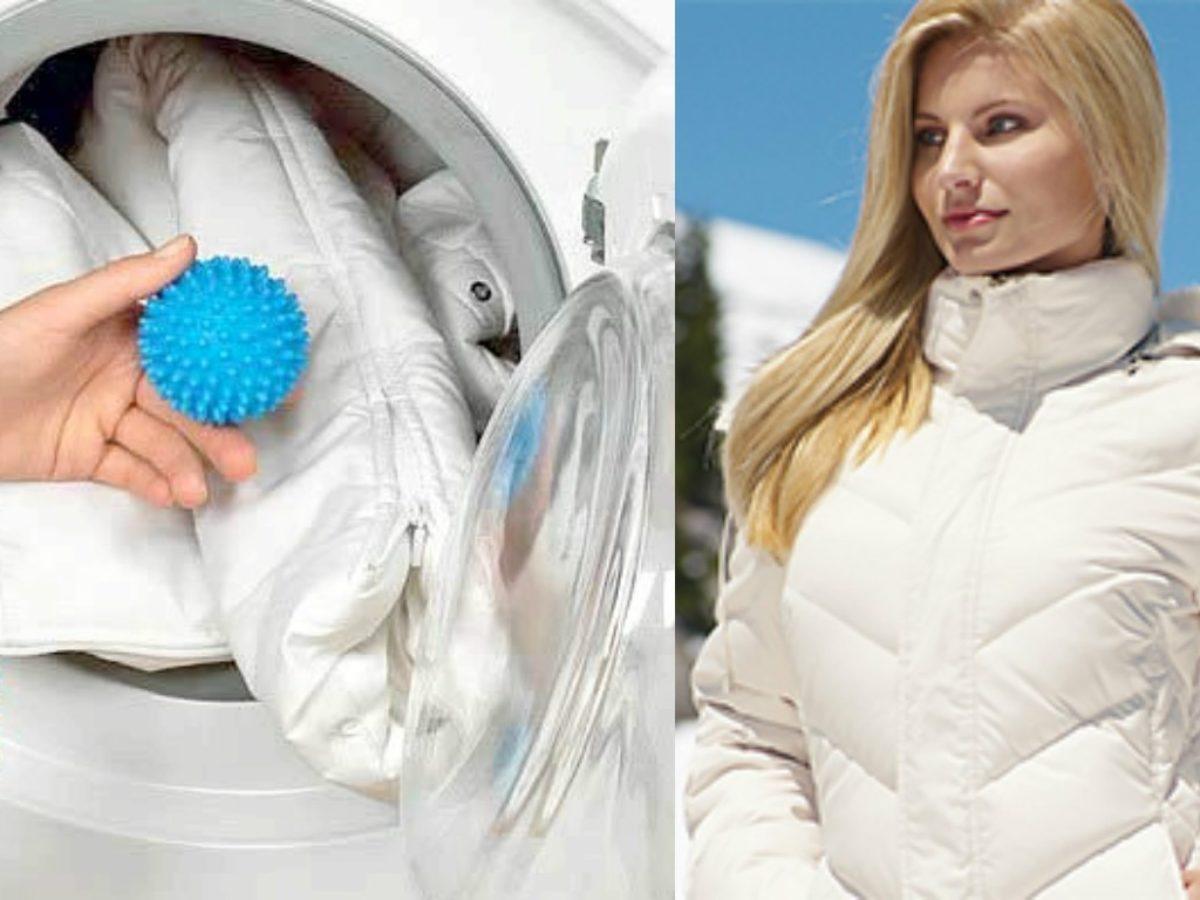 Зачем в стиральную машину кладут теннисные мячики: эффект на практике
