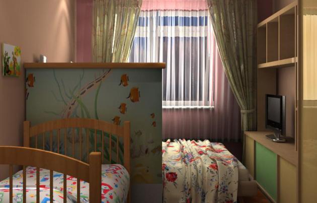 дизайн гостиной детской