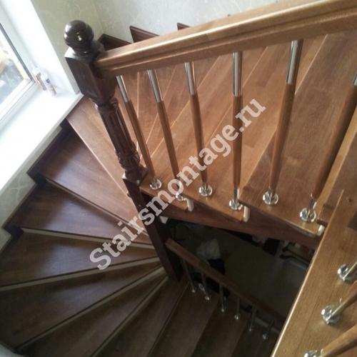 Каркас лестницы из металла своими руками