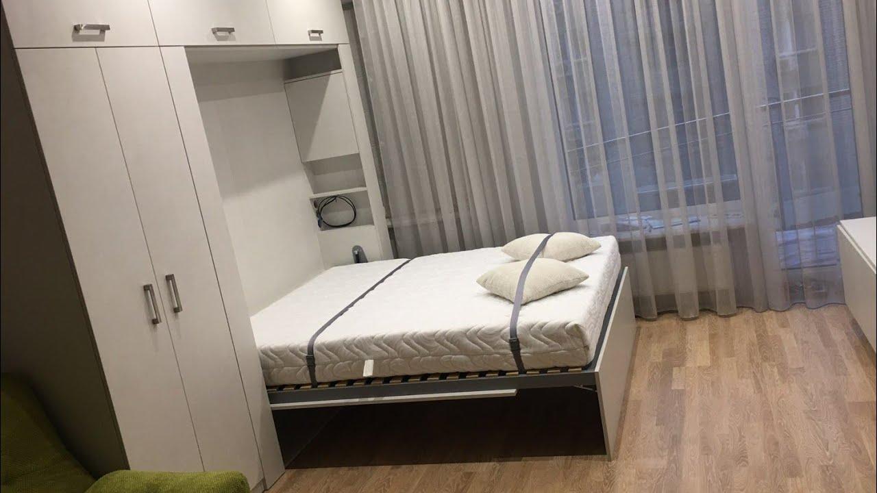 Спальня гостиная в одной комнате 18 кв м: фото с кроватью, зонирование, советы
