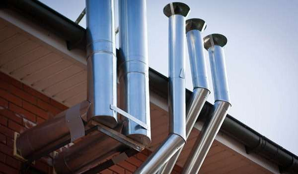 Вентиляция для газового котла в частном доме - монтаж своими руками