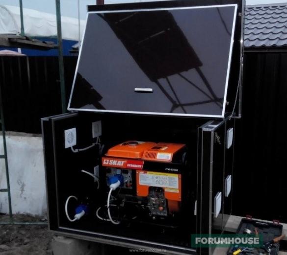 ящик для генератора