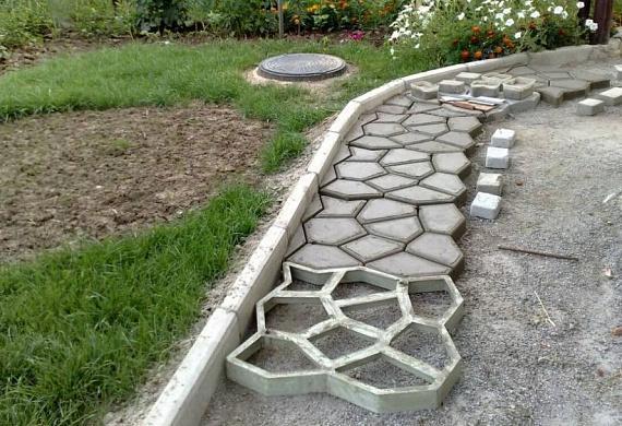 Красивые садовые дорожки из бетона: пошаговая инструкция ⋆ domastroika.com