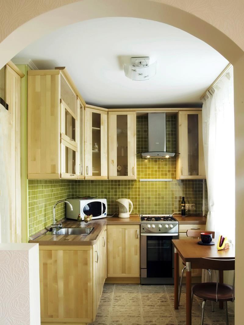маленькая кухня как все разместить идеи
