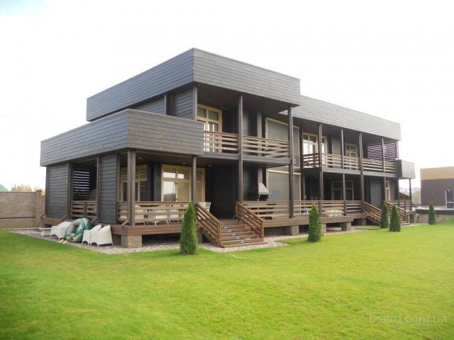 Дом из клееного бруса – секреты стильного дизайна - уютный дом