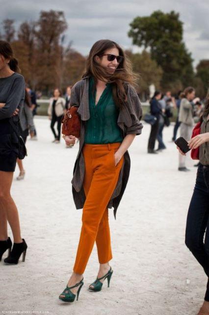 Терракотовый цвет в одежде - сочетание и с чем носить, фото | шкатулка красоты