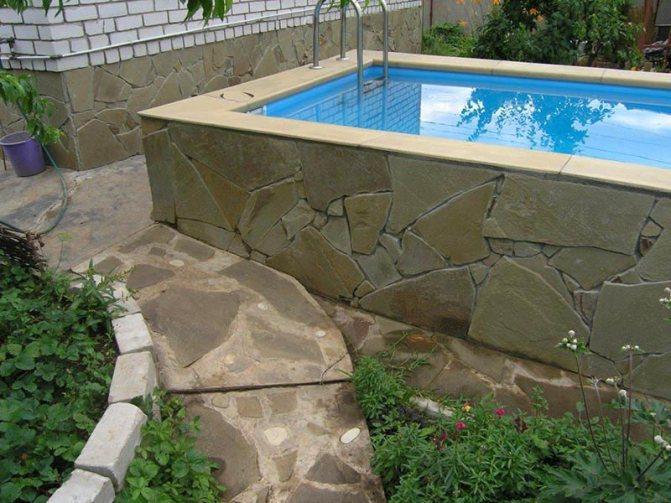 Пропорции бетона для бассейна своими руками: состав и марка (фото, видео)