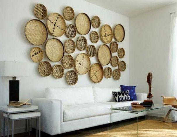 Оригинальные идеи для декора стен своими руками