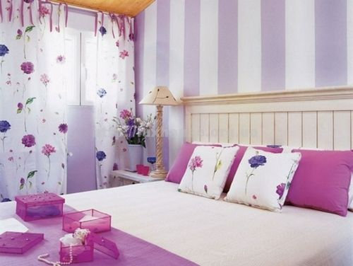 красивые фиолетовые обои