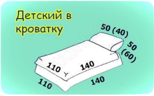Размеры детских одеял: стандарт, таблица, длина и ширина в см. размер детского одеяла для новорожденного, ребенка 2 года, 3 и 5 лет