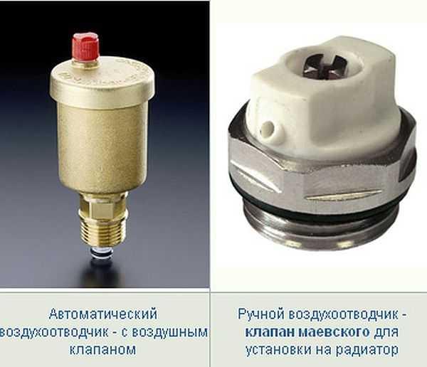 Автоматический воздухоотводчик: принцип работы в системе отопления