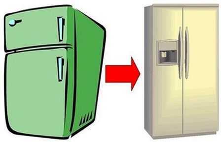 продать сломанный холодильник