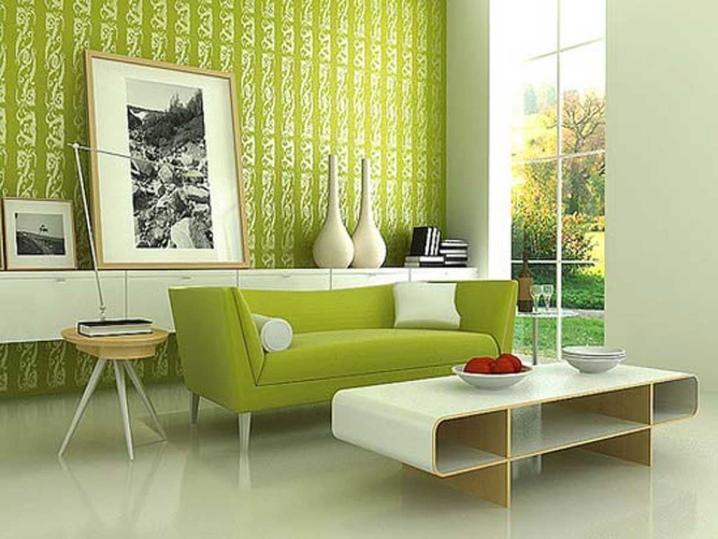 Уникальная эстетика – оливковый цвет в интерьере