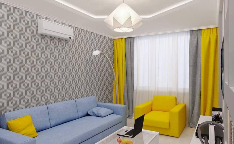 Желтые шторы: 115 фото примеров грамотного использования штор желтого цвета