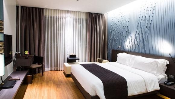 Серые шторы в спальне: 120 фото эксклюзивного дизайна штор