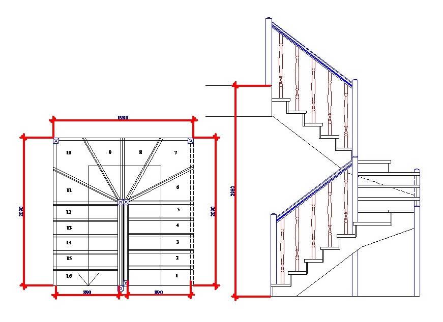 лестницы на заказ москва