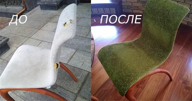 перетяжка стула
