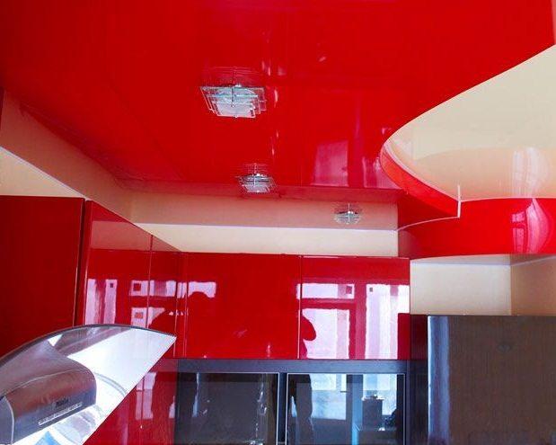 Подбираем цвета под натяжные потолки