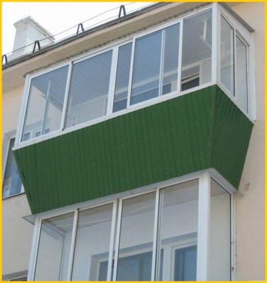 Витражное остекление балкона и лоджии - больше света и красоты