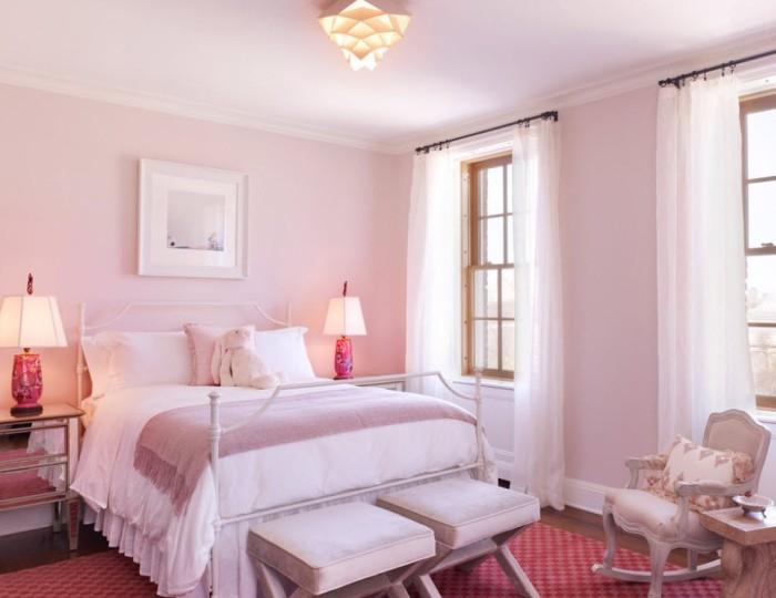 Розовые обои (49 фото): красивые однотонные обои темно- или нежно-розового цвета, розы и небо на стенах в интерьере