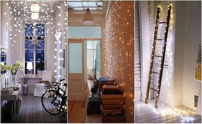 3 способа новогоднего освещения фасадов здания — какой лучше и как сделать своими руками.
