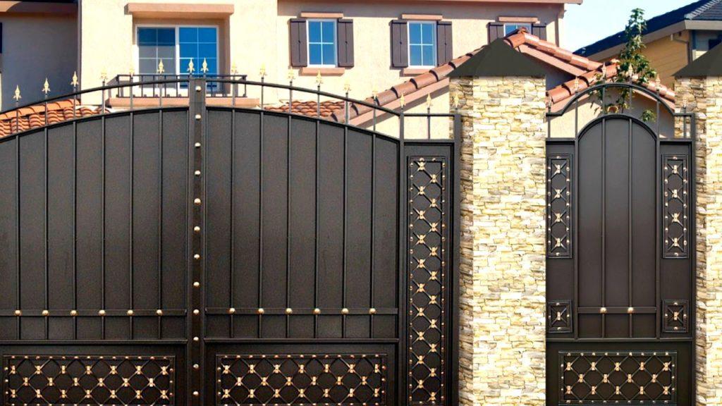 Виды ворот для частного дома - всё о воротах и заборе