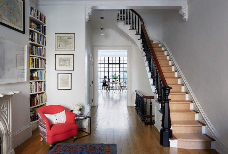 деревянные лестницы на второй этаж фото