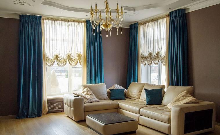 дизайн интерьера шторы