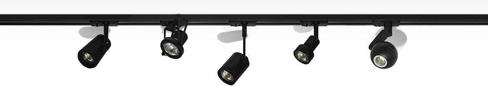 Использование трекового освещения | роскошь и уют
