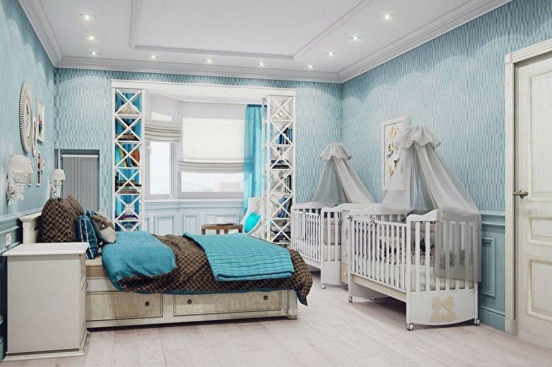 гостиная с детской зоной