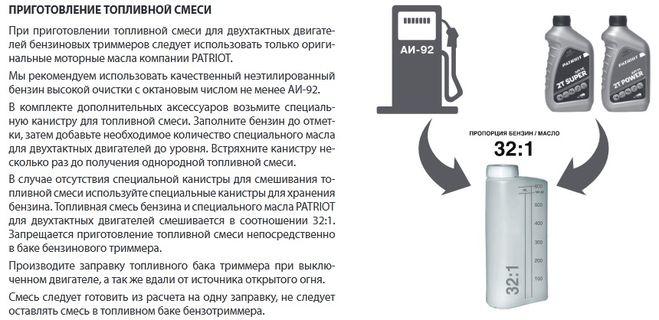 Пропорции бензина и масла для газонокосилки: как разбавить бензин для двухтактных двигателей? сколько масла добавлять на литр бензина?