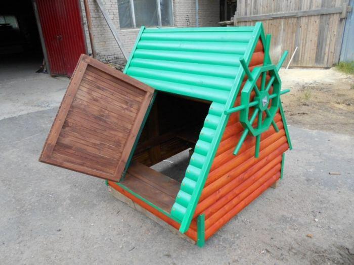 Оформление колодца на даче своими руками: декоративная отделка, идеи оформления, фото